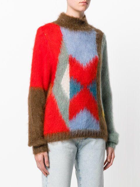 Chloé свитер с рисунком