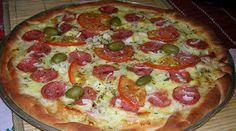 Receita de Receita de Massa de pizza para forno a gás!