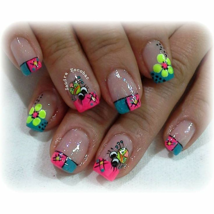 1032 best images about Uñas pintadas on Pinterest