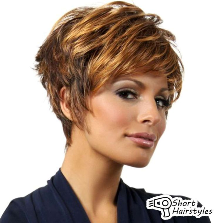 hair styles for short thick hair