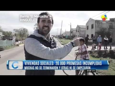 """""""20 mil promesas incumplidas"""": viviendas que se pagaron y que jamás se c..."""