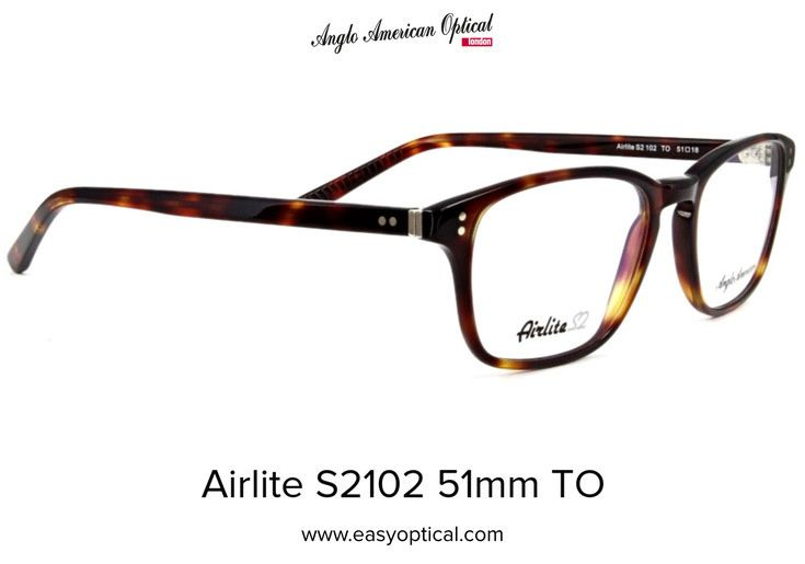 68cc8195dbf1 Anglo American Optical Airlite S2102 51mm