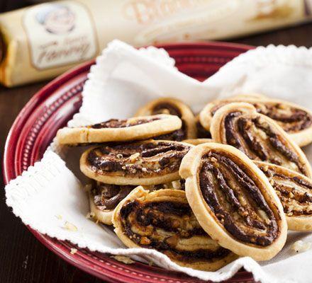 Hazelnoot-chocoladekoekjes