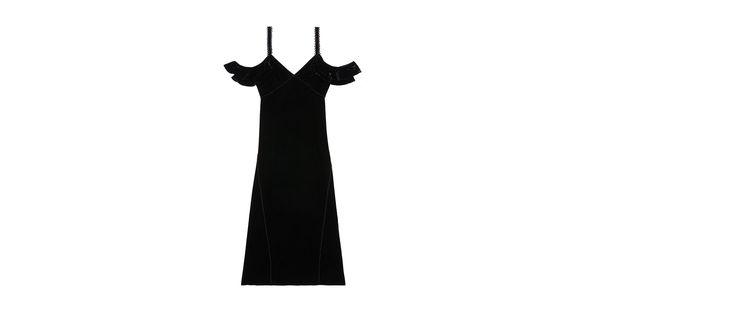 Rachel Zoe | Kinsley Lace-Up Velvet Dress