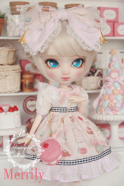 "[Merrily] Pullip Custom by ""Happydolly x Memento"" | Flickr: ayaume.           #doll #pullip"