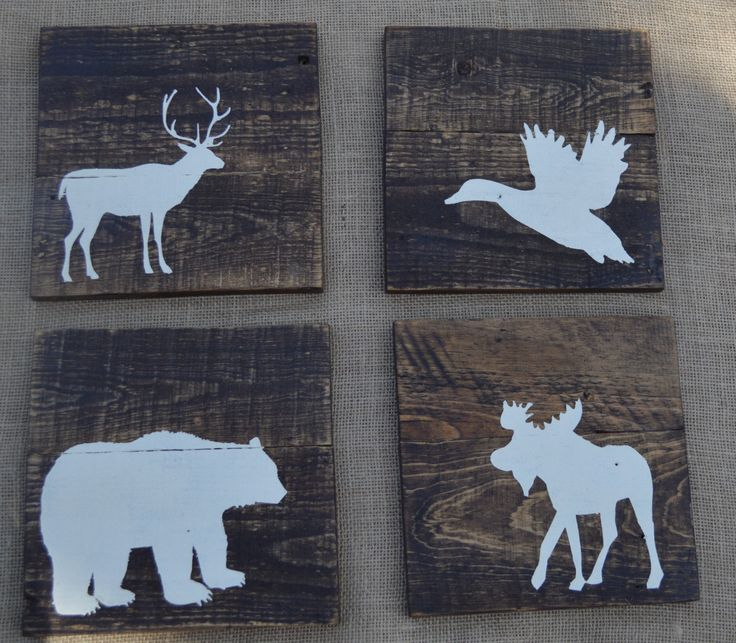 10x10 Upgrade  Rustic Reclaimed Wood  Woodland by DevenieDesigns, $90.00