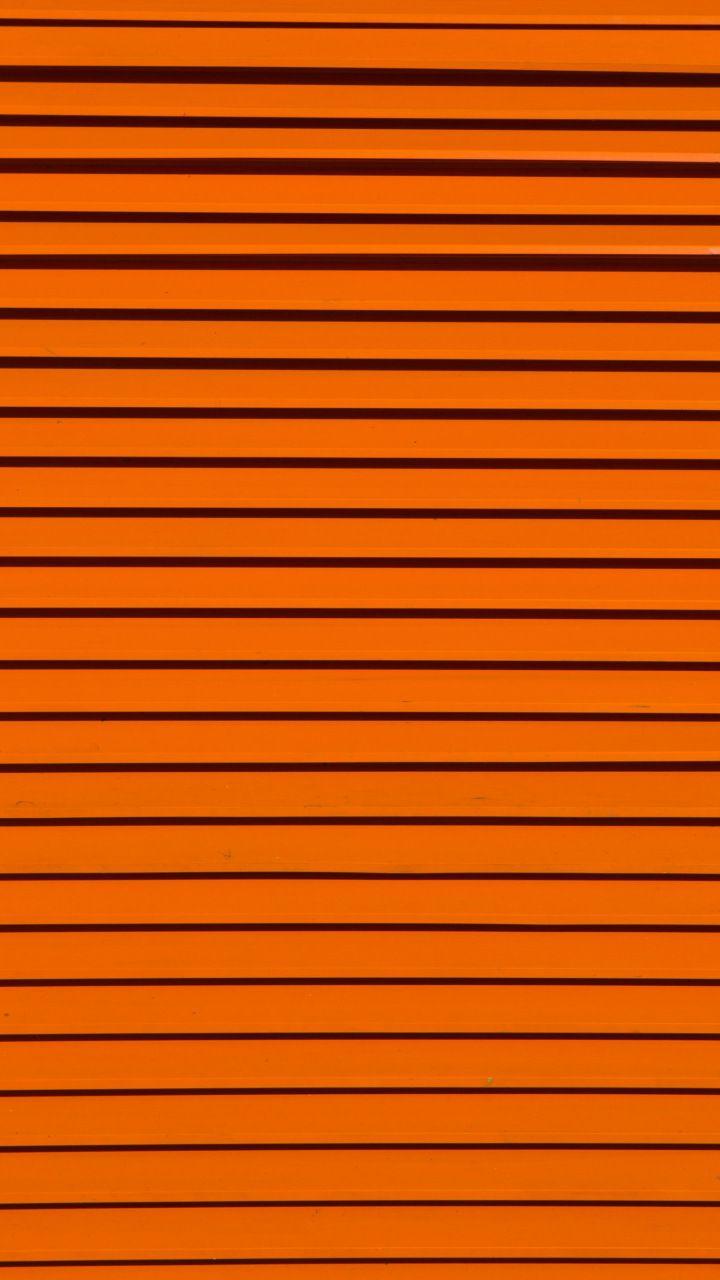 Stripes, texture, orange, 720x1280 wallpaper | Orange ...