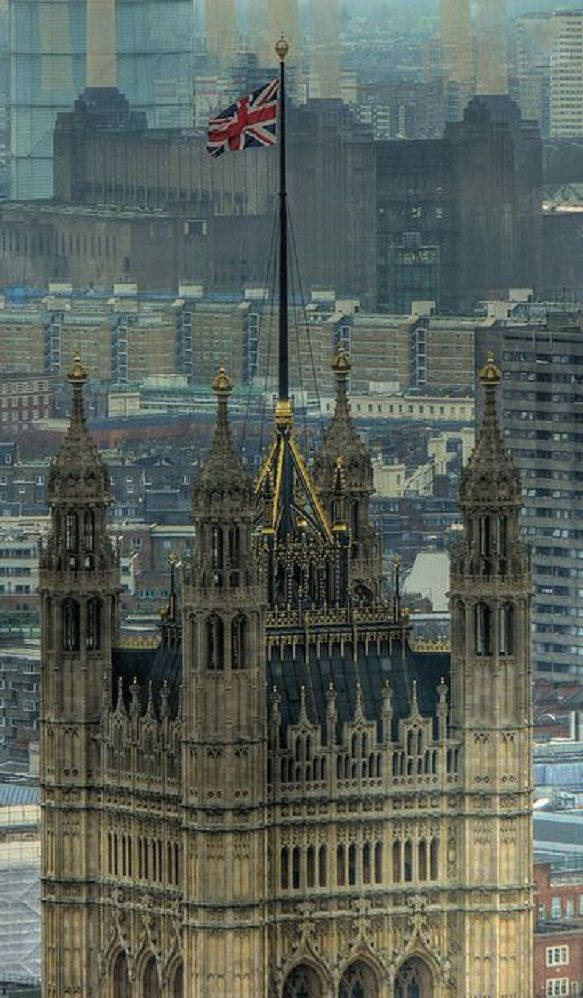 Westminster Palace in London, UK