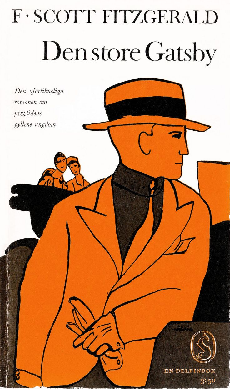 F Scott Fitzgerald - Den store Gatsby   by Martin_Klasch