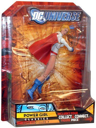 DC Universe Classics Imperiex Series Wave 10 Figure 4 Power Girl Action Figure by hasbro. $10.93. DC Universe Classics Series 10 Power Girl Action Figure. We have been able to locate a small supply of these exclusive figures for our International and other customers. DC Universe Classics: Series 10: Power Girl is accompanied by one of the pieces required to assemble the Build-A-Figure Imperiex. Power Girl is clad in her classic white costume, complete with blue glove...