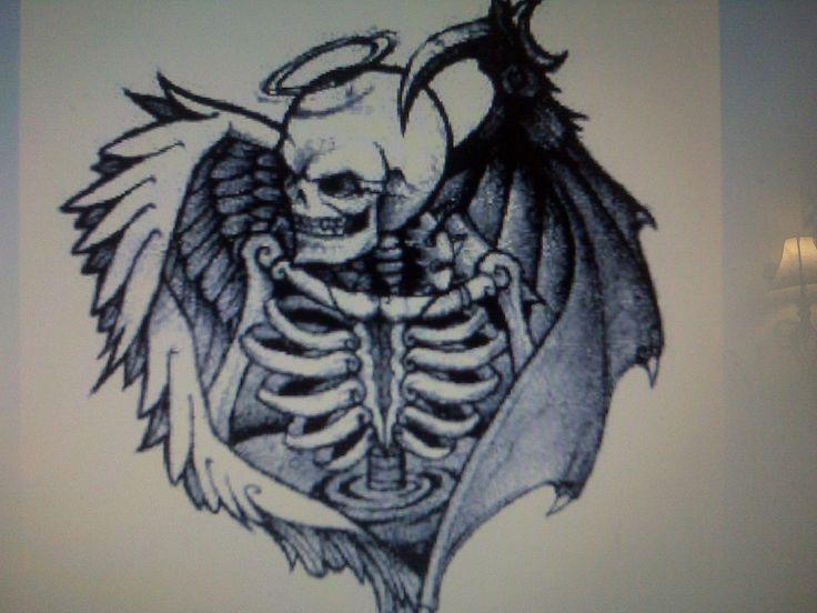17 Best Images About Good Vs Evil On Pinterest: 19 Best Evil Gemini Tattoos Images On Pinterest