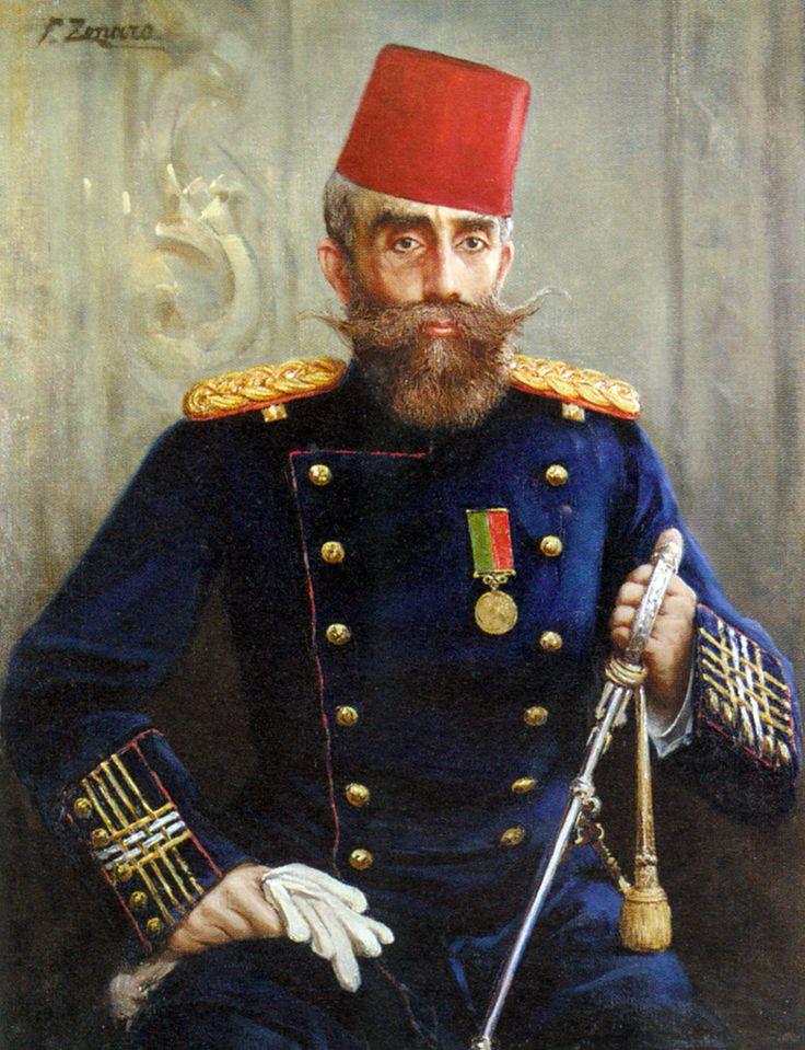 Fausto Zonaro - Portrait of Mahmud Sevket Pasha