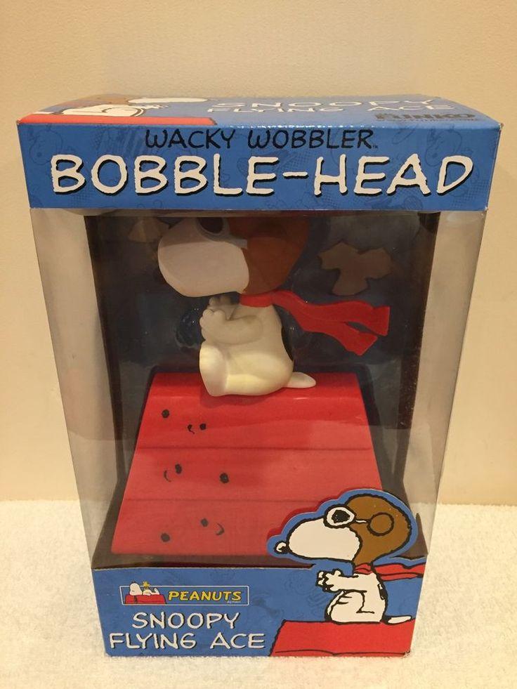 Snoopy Flying Ace Wacky Wobbler Bobble-Head by Funko New In Box Free Shipping!!  | eBay