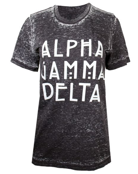 Alpha Gamma Delta American Horror Tshirt by Adam Block Design | Custom Greek Apparel & Sorority Clothes | www.adamblockdesign.com