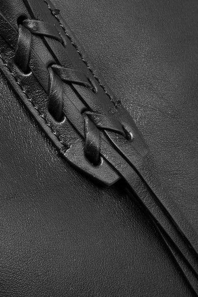 Lanvin - The Shopper Small Leather Tote - Black - one size