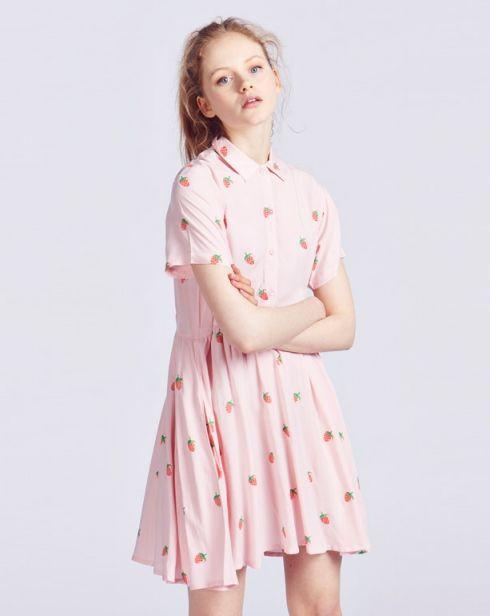 Lazy Oaf Mini Strawberry Dress - View all - NEW IN - Womens