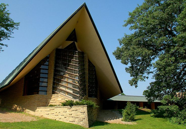 17 best images about fllw architecture on pinterest for Frank lloyd wright buildings