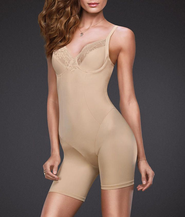 Maidenform Vintage Chic Firm Control Bodysuit Shapewear - Women's