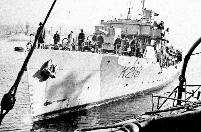 HMCS BRANTFORD K218