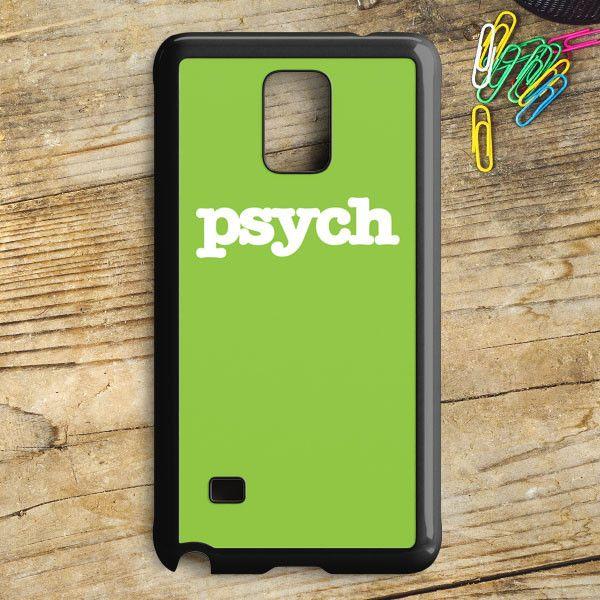 Psych Tv Series Samsung Galaxy Note 5 Case | armeyla.com