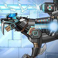 Dino Robot Smilodon Black,Puzzle games,k7x.com,free online games