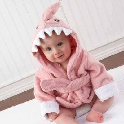 Pink Shark Robe