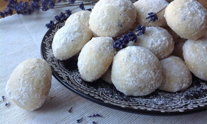 Levandulové sušenky s kardamomem