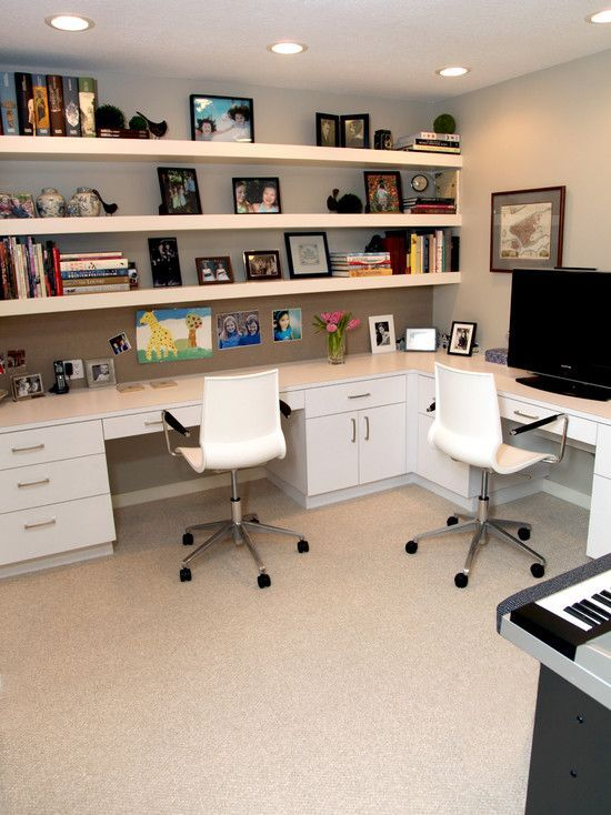 30 Corner Office Designs And Space Saving Furniture Placement Ideas. Study