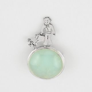 The Little Prince Pin with Stone