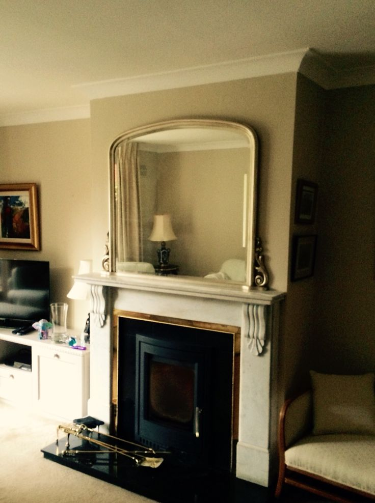 Arched Top Overmantle Mirror MirrorDrawing RoomMirrors
