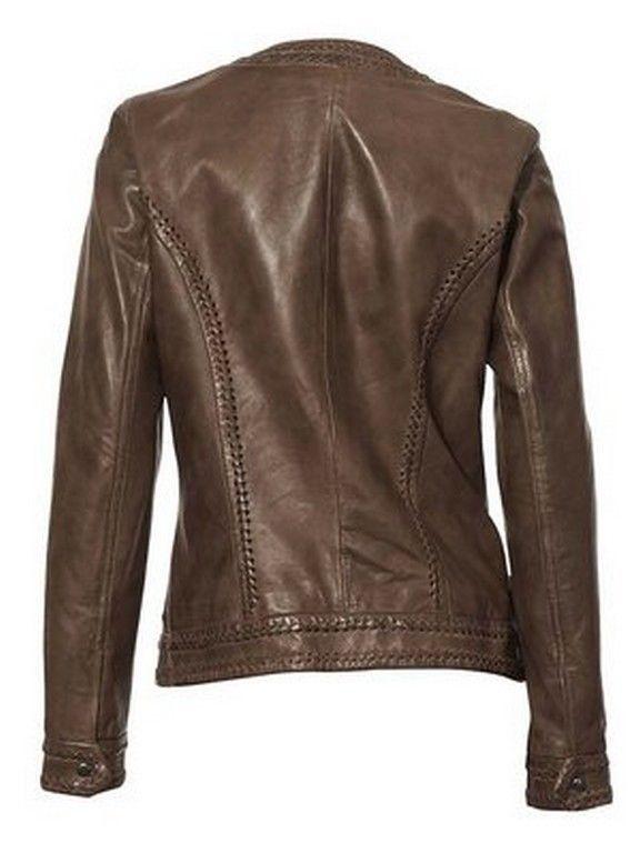 New Women Leather Jacket Genuine Lambskin Designer Biker Ladies Slim S, M, L,XLN