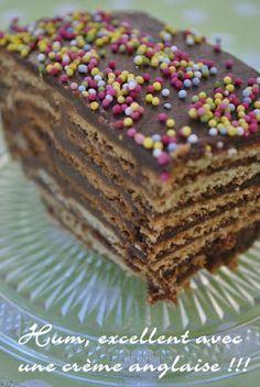 Comme promis, je vous donne la recette du Gâteau qui a bercé mon enfance, sur lequel j'ai soufflé toutes les bougies de mes anniver...