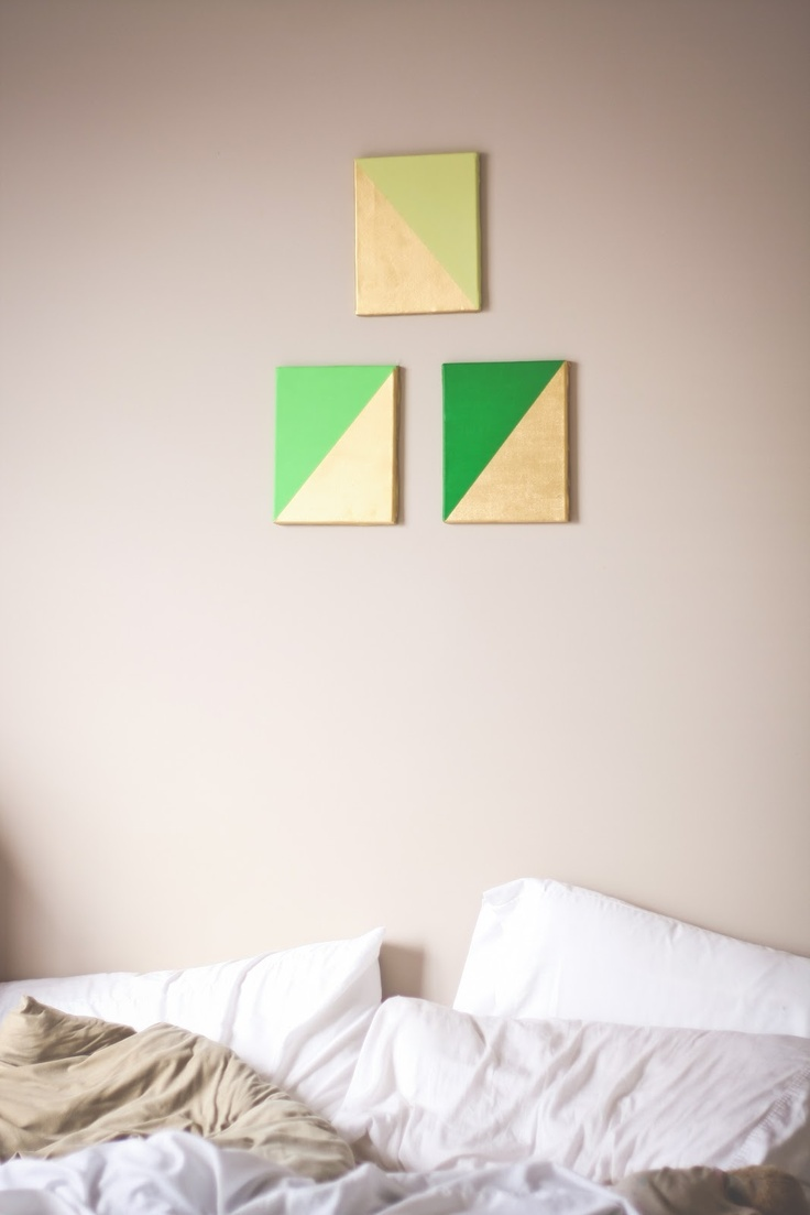 kaytee lauren | gold dipped canvas