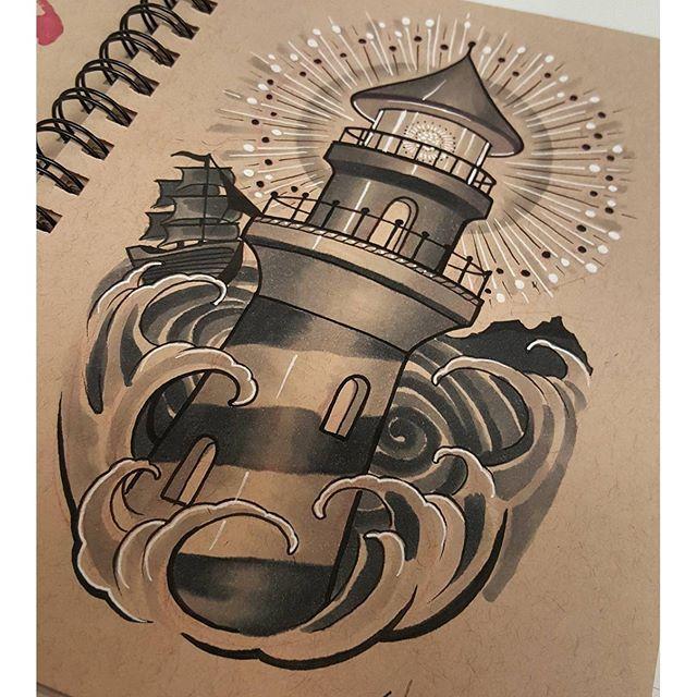 25 best lighthouse tattoos ideas on pinterest nautical