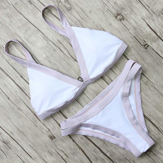 Promi-Bikini-Set mit niedrigem Hüftgurt  – summer '20