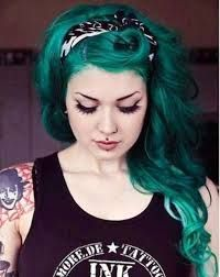 Resultado de imagen para cabello dos colores fantasia