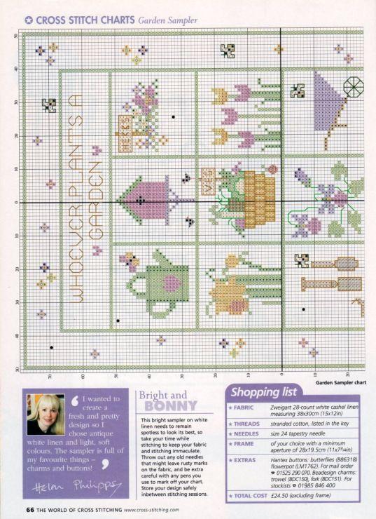 Gallery.ru / Фото #32 - The world of cross stitching 061 август 2002 - WhiteAngel