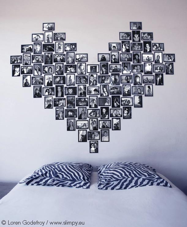 Coeur Photo Mur