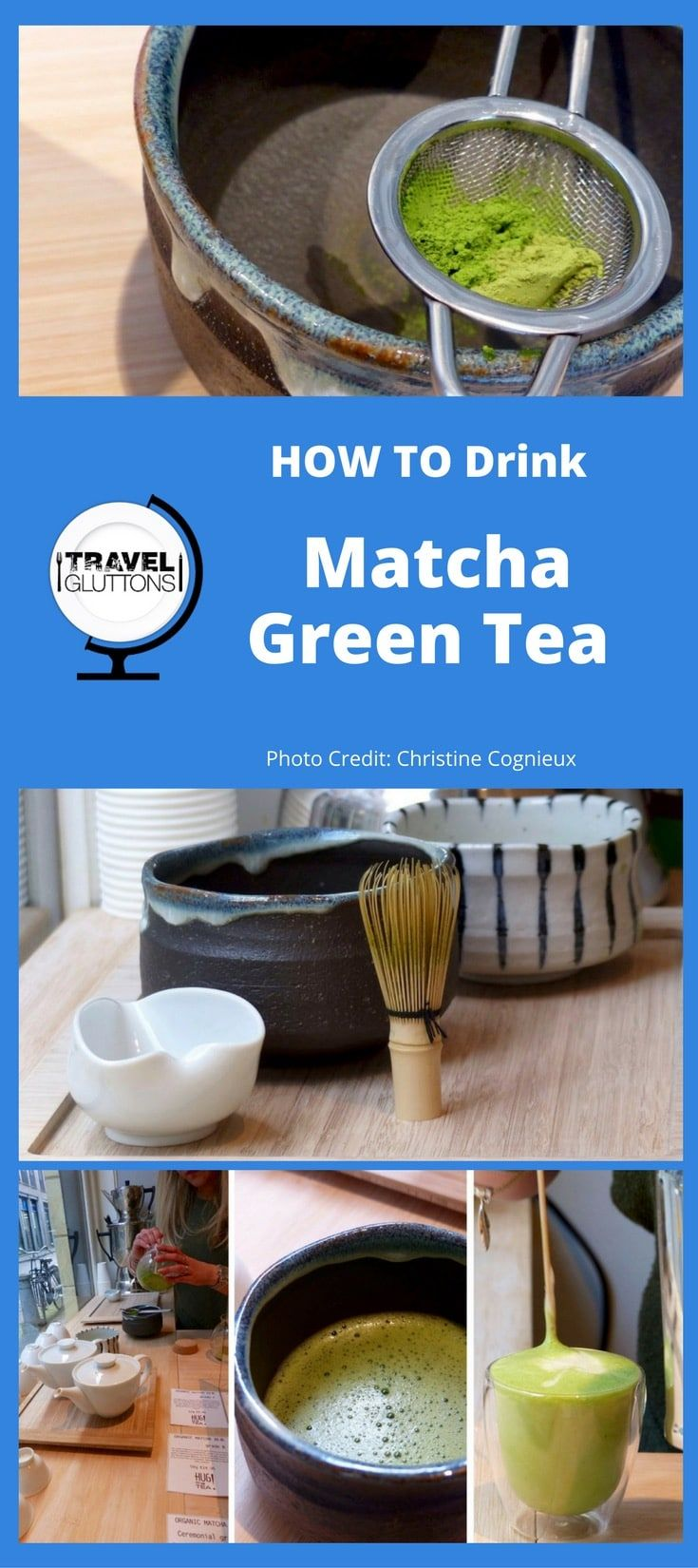 What is matcha tea? Respected for centuries in Japan, matcha green tea is becoming a superstar around the world. Can you resist its super powers? via @travelgluttons