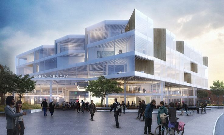 henning larsen architects to complete medical faculty at sweden's lund university