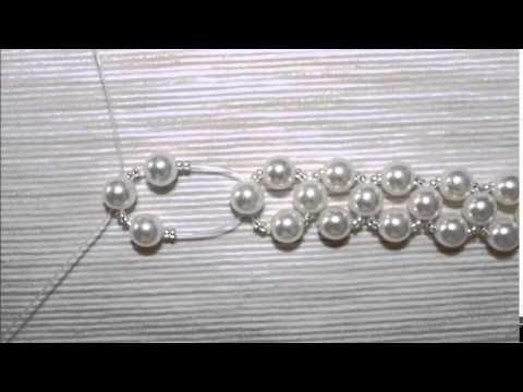 Tutorial Orecchini in Perline-Tessitura #bijoux #handmade #earrings – YouTube #bijoux #earrin…