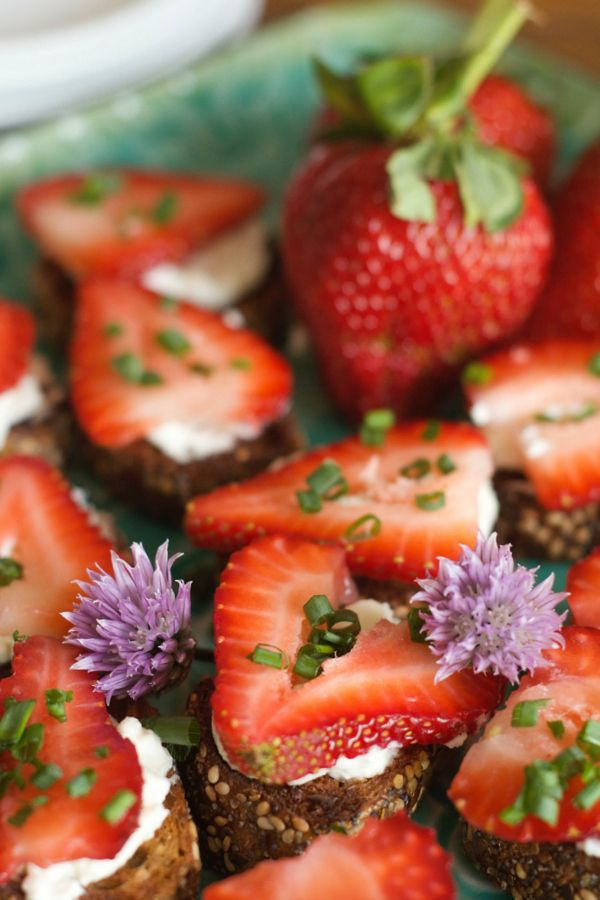 Roasted Strawberry Bruschetta From Reluctant Entertainer Recipes ...