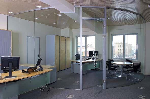 Офисные перегородки в Москве от 100peregorodok , Системы офисных перегородок