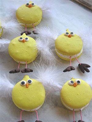 Chick macarons