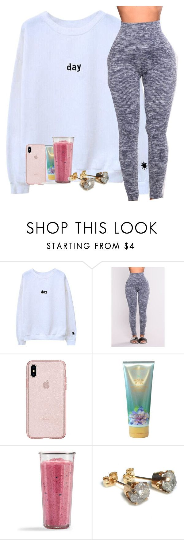 """Lazy Saturday"" by dymerraluvsuxoxo ❤ liked on Polyvore featuring Victoria's Secret"