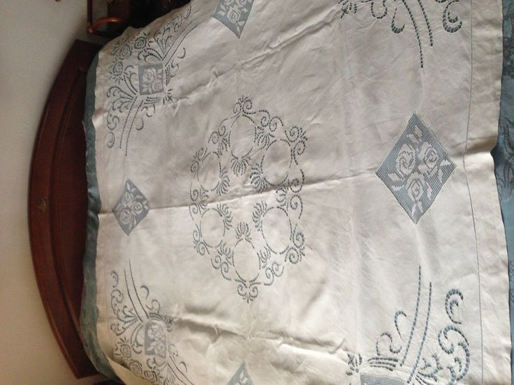 Beautiful Vintage Hand-Embroidered Tablecloth FOR SALE • $88.00 • See Photos! Money Back Guarantee. We are happy to present you these three lovely vintage hand-embroidered tablecloth. It's in good condition and the size is 69'' x 69''. 371776556396