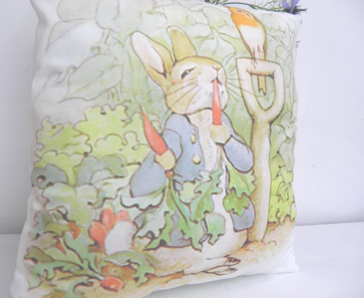classic peter rabbit nursery baptism baby chair bed pillow original 100 cotton