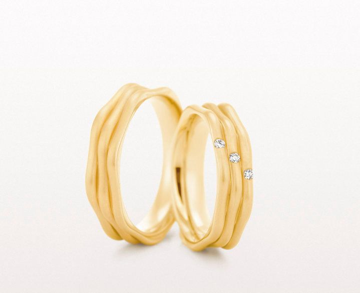 17 best images about gold wedding band styles on for Christian bauer wedding rings