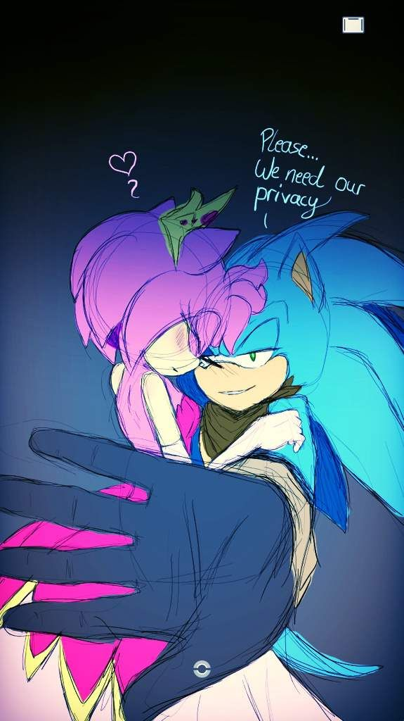 Sonic And Amy Vampire