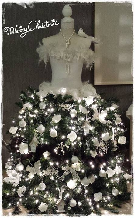 Mannequin Christmas Tree (not mine, but would love to have/make one of these!)